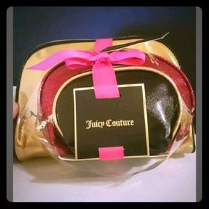🆕 3 Juicy Couture Cosmetic Bags NWT